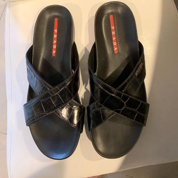 0f07cf556 Prada Men s Sandal